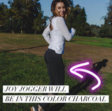 Joy Jogger (Charcoal Black) LIMITED EDITION PREORDER