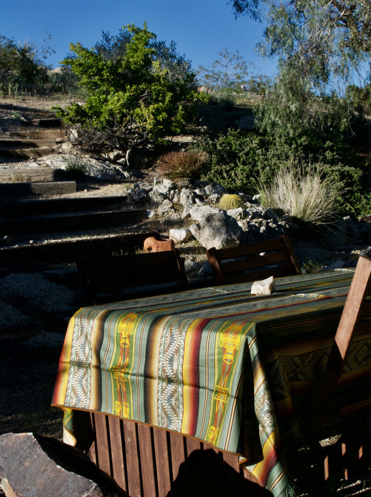 Boho retreat in the desert in Yucca Valley. Salt and Sol Lookbook at Joshua Tree for the Artisan Collection of handwoven blankets.