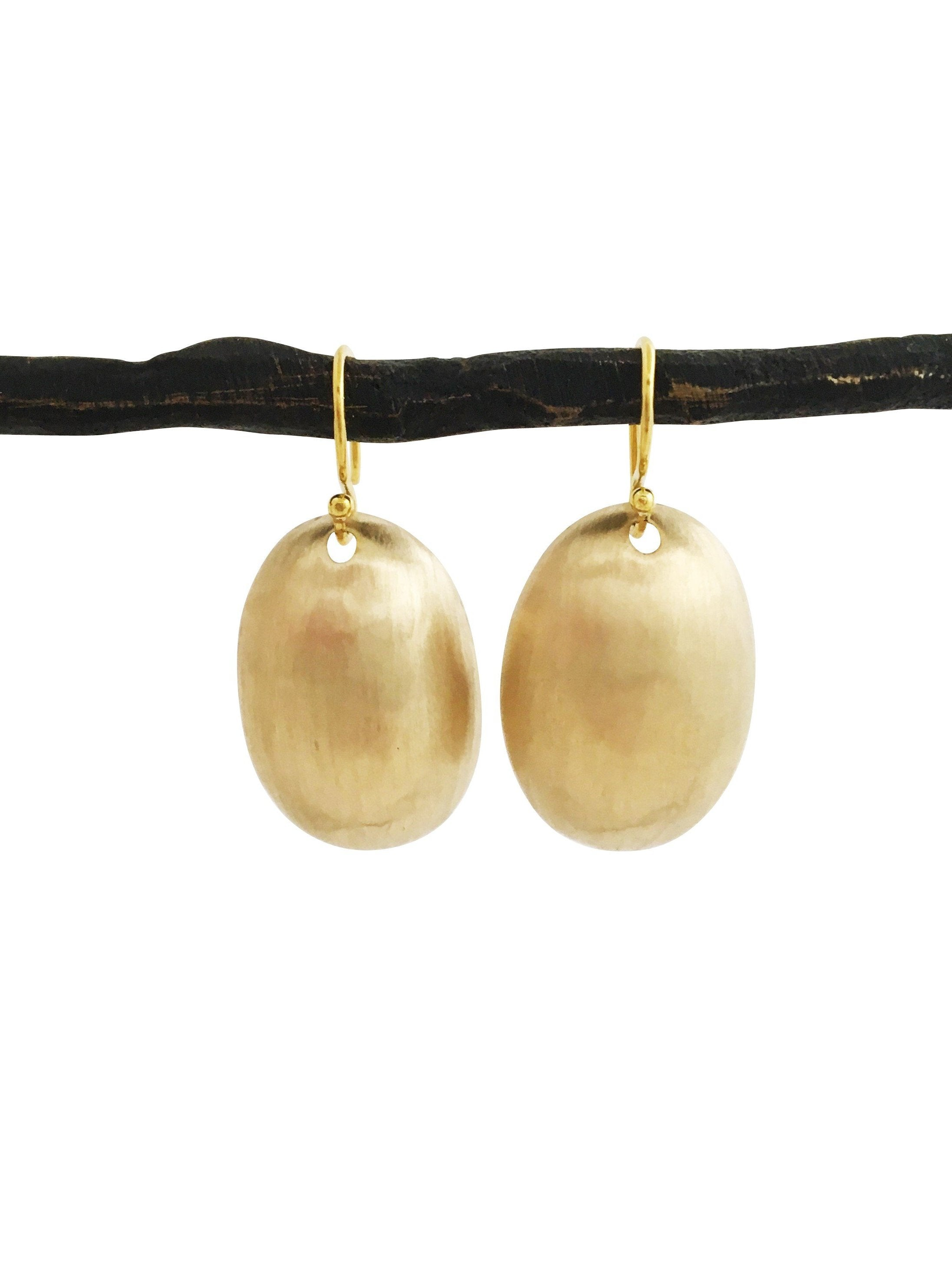 Golden Pod Earrings