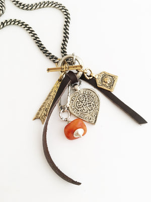 Fire Talisman Necklace