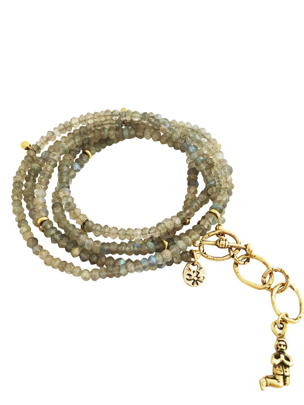Labradorite Spirit Element Wrap Bracelet & Necklace