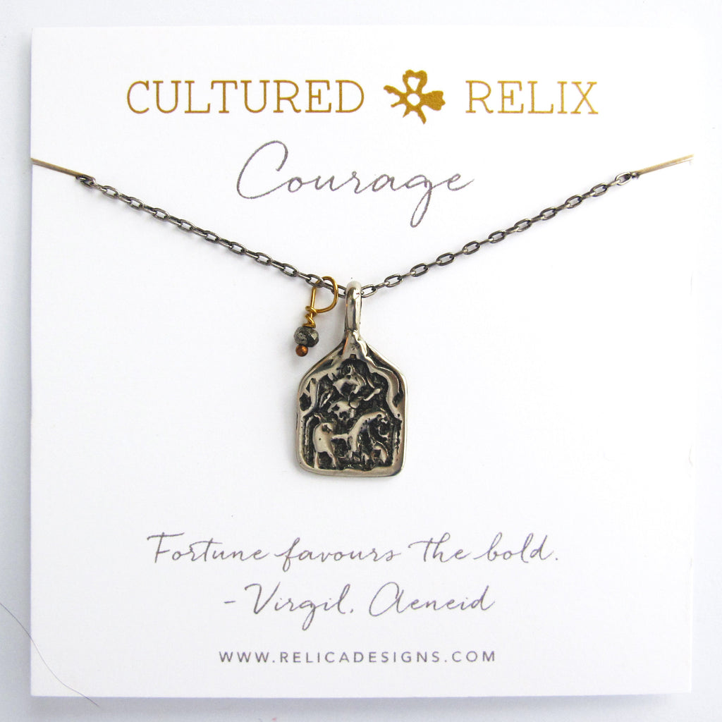 Courage Relic Necklace