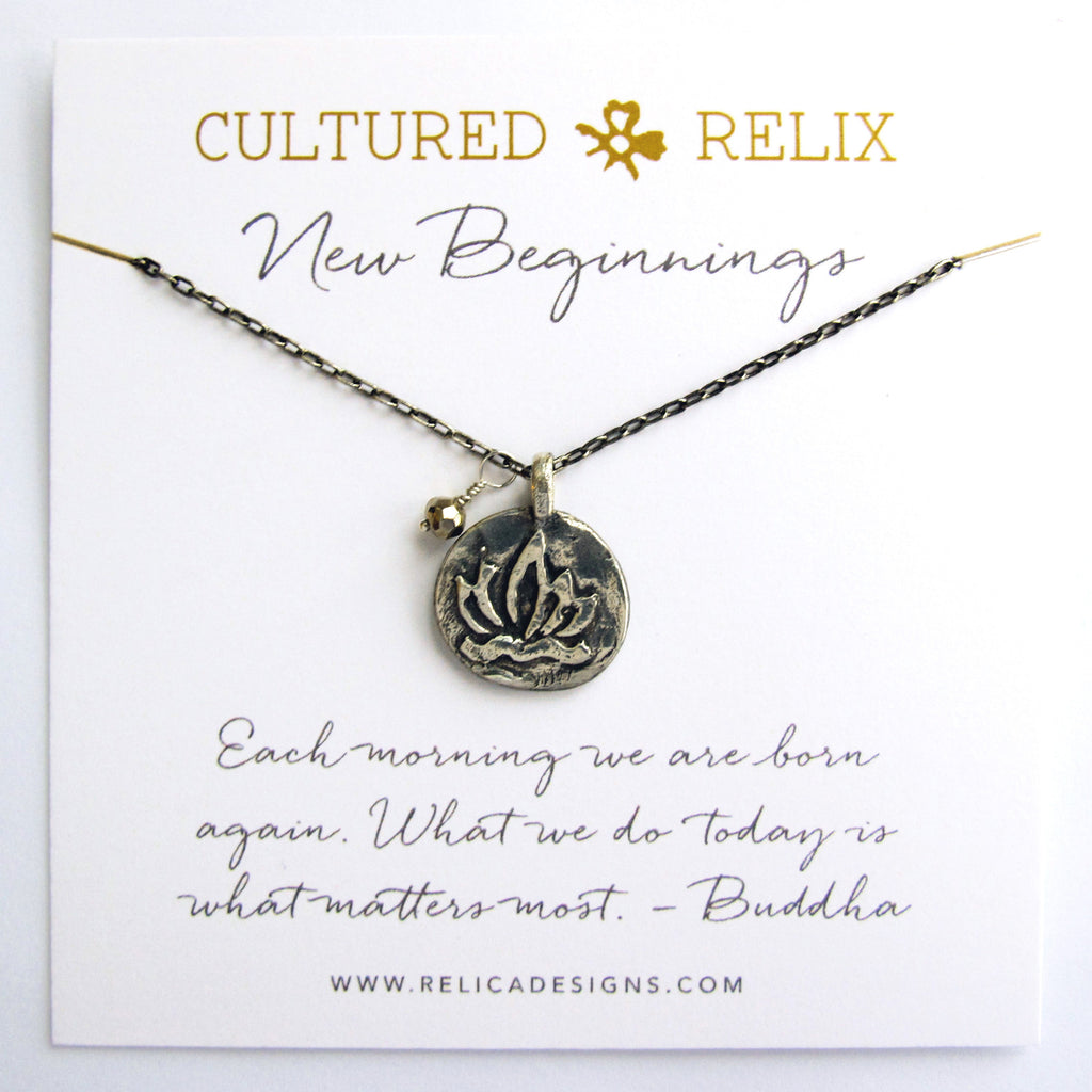 New Beginnings Relic Necklace