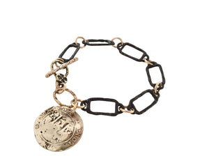Spanish Galleon Coin Bracelet