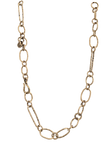 Golden Link Chain Necklace