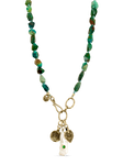 Begin Anew Chrysocolla Necklace