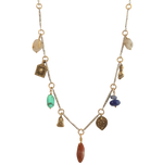 Sterling Touchstone Relic Necklace