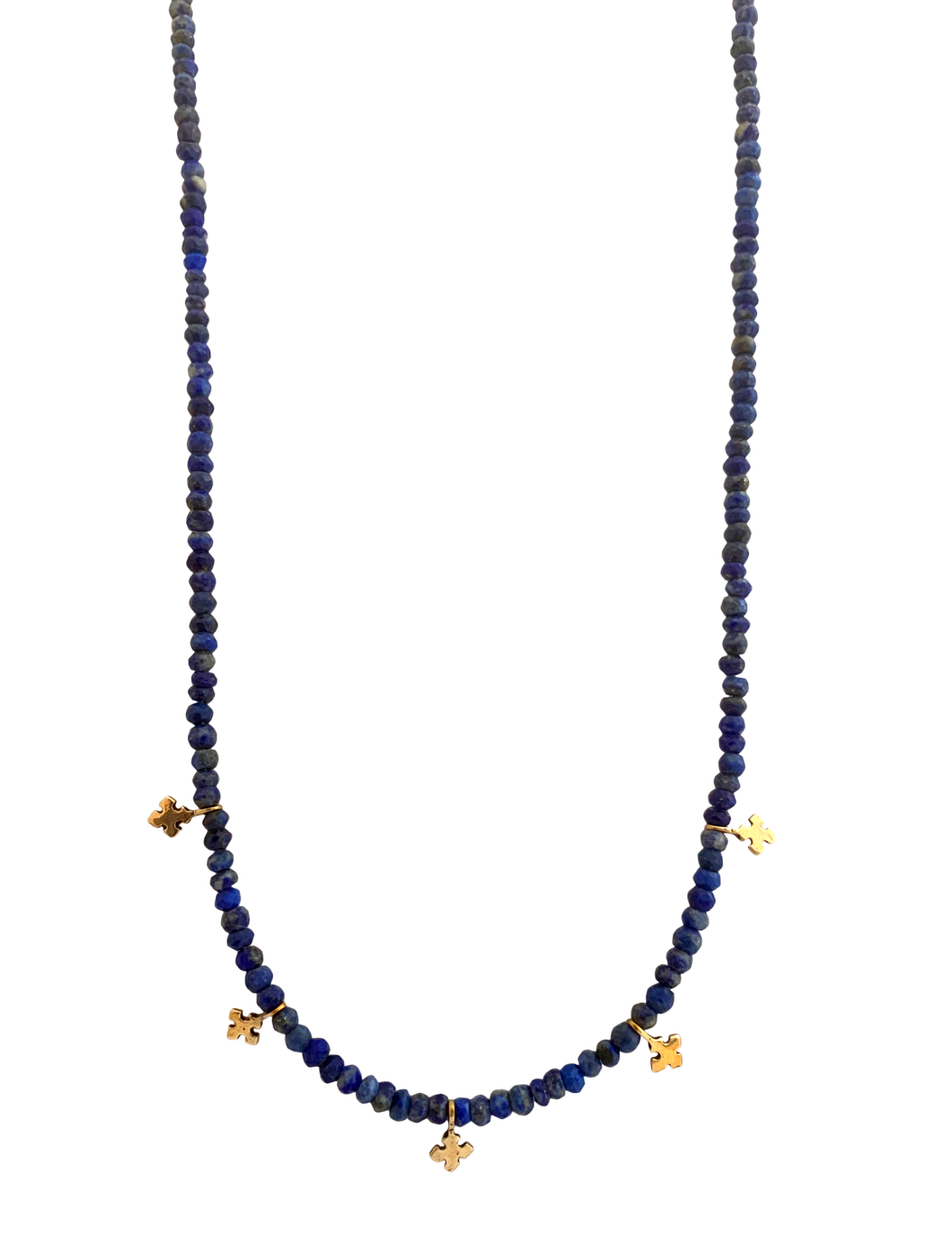 Courage & Devotion Lapis Necklace
