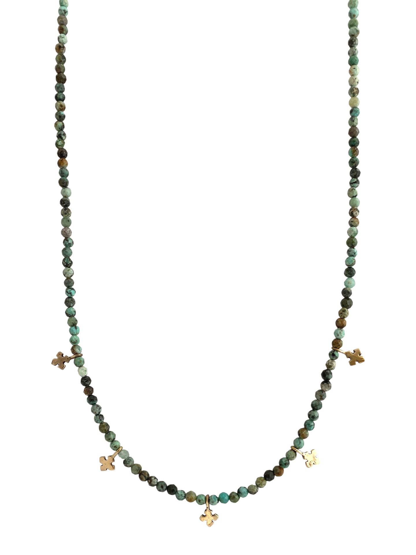 Courage & Devotion Turquoise Necklace