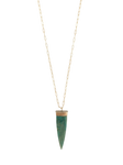 Deep Serenity Chrysocolla Necklace