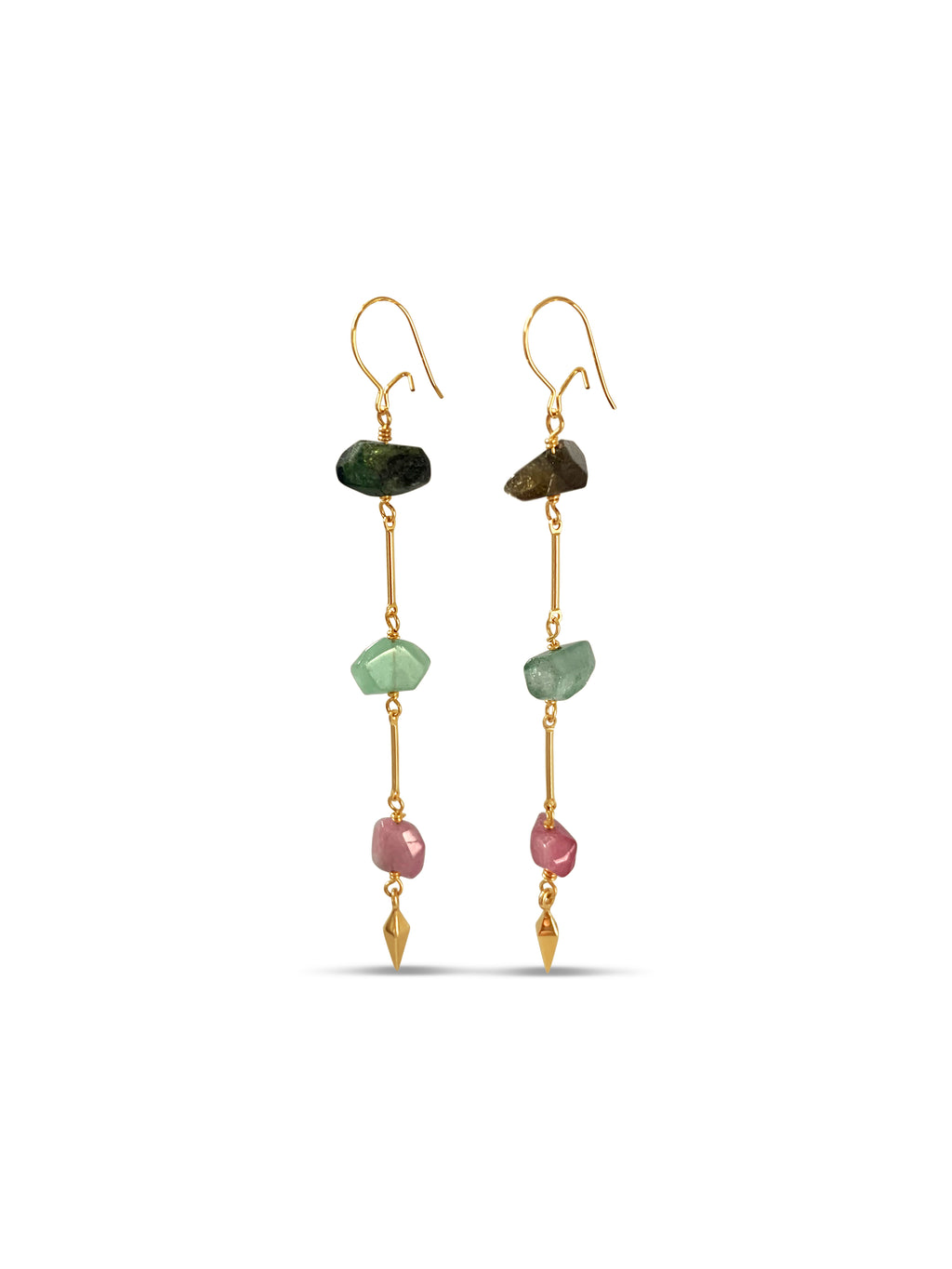 Tourmaline Enlightenment Earrings