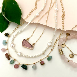 Tourmaline Enlightenment Necklace