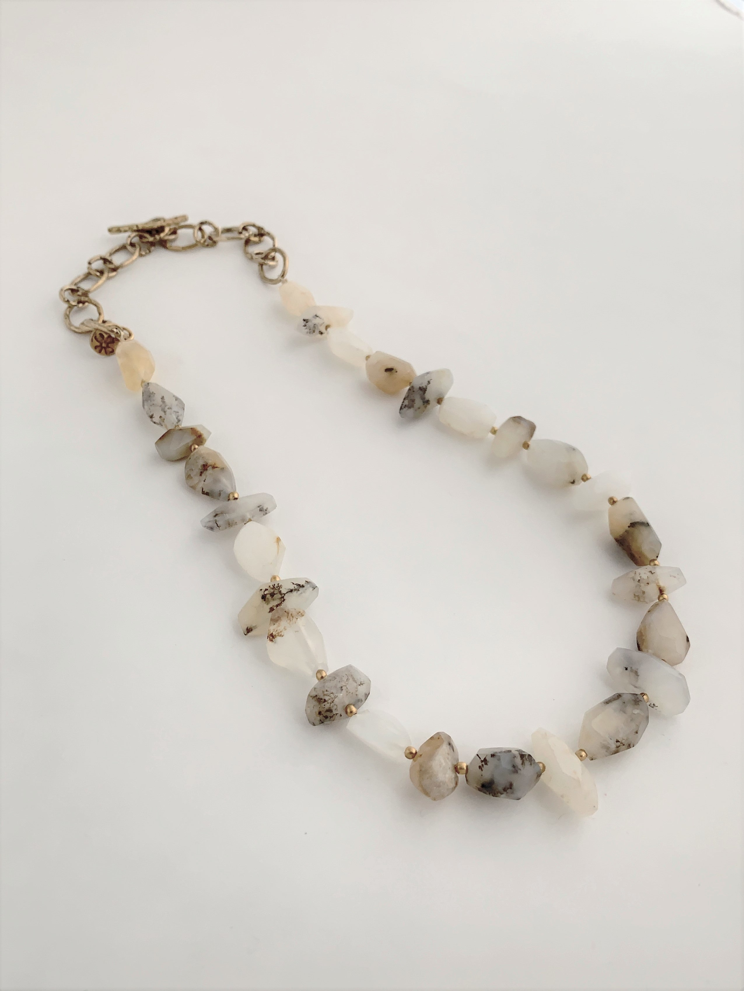 Dendrite Opal Statement Necklace
