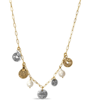 Lucky Pearl Coin Necklace