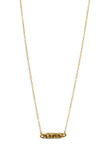 Delicate Gold Word Necklace