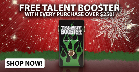 Free Talent Booster with $250 Purchase