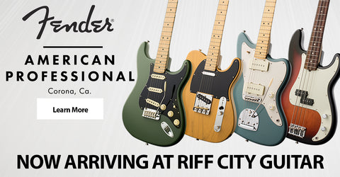 Fender American Pro Now Arriving