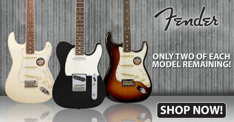 Only 2 Left of Each Model - Fender Channel Bound