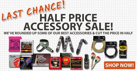 Half Price Accessory Sale Ends At Noon