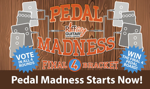 Pedal Madness Starts Now!