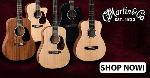 Up To $100 Off Select Martin Guitars