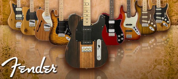 Fender 2017 Exotic Collection