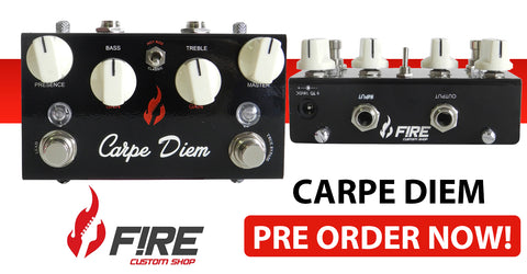 Fire Custom Shop Carpe Diem Now Available For Pre Order!