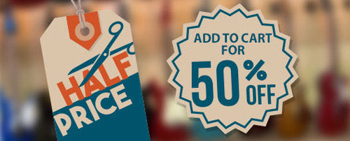 Get more for you money with our half price sale! Add to cart for discount