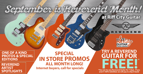 Reverend Guitar Month