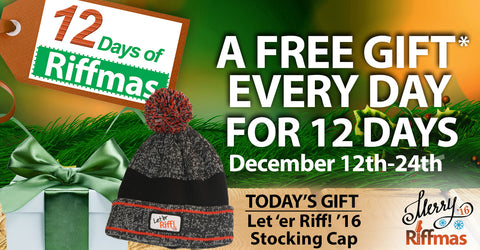 Riffmas Day 12 - Free Hat