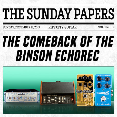 Riff City Sunday Papers Vol.1 No.19