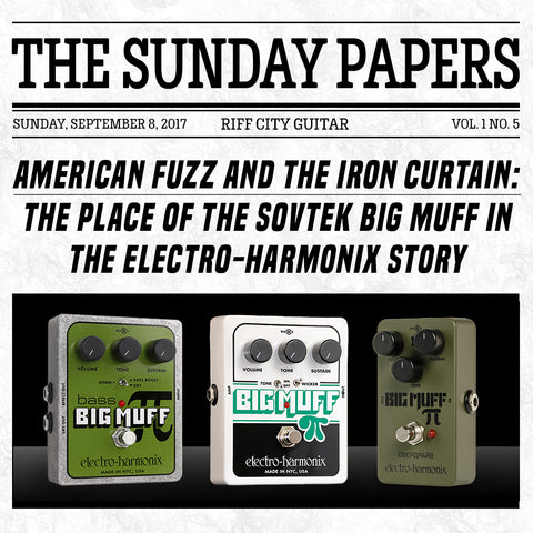 Riff City Sunday Papers - Vol. 1 No. 5
