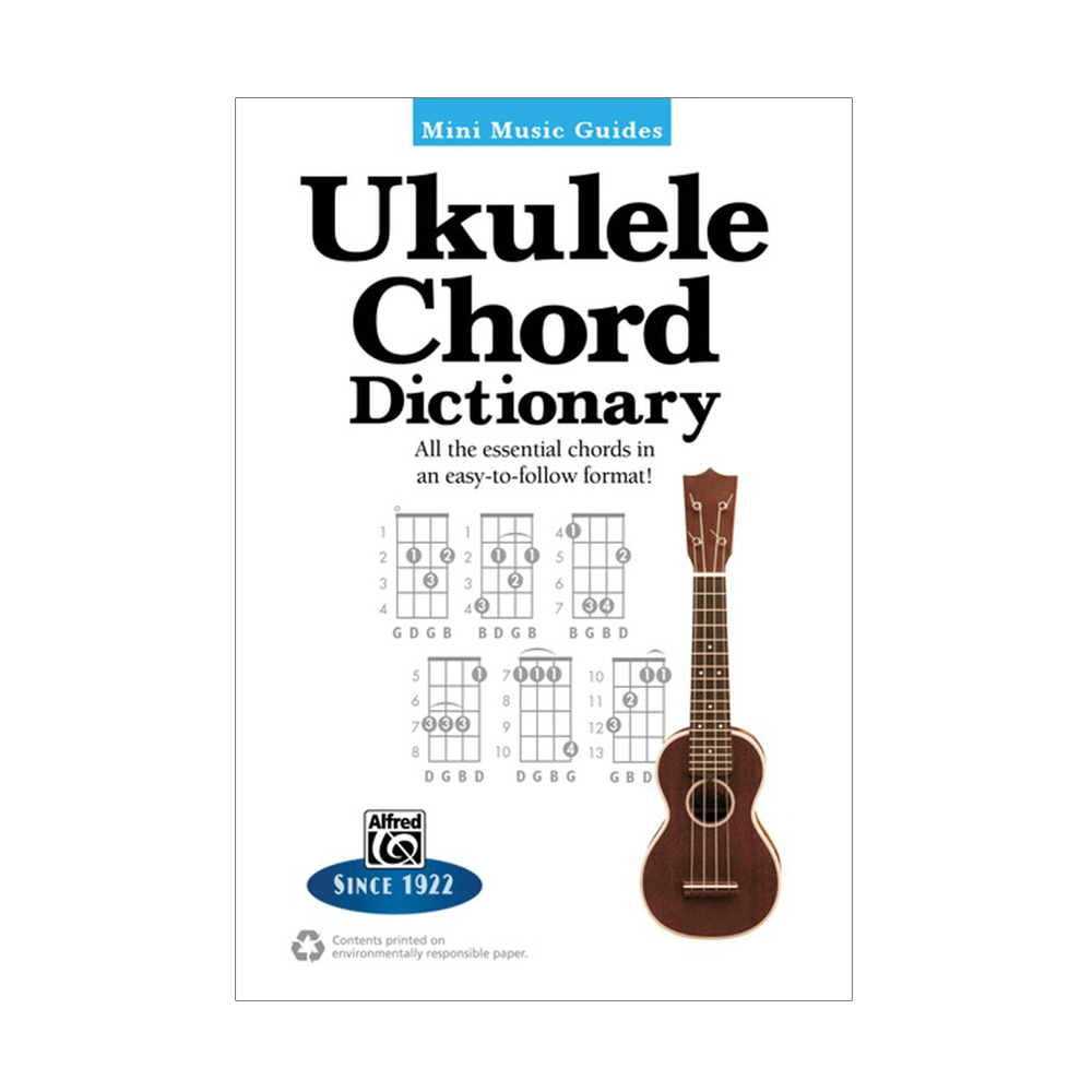 Mini Music Guides Ukulele Chord Dictionary Riff City Guitar Outlet