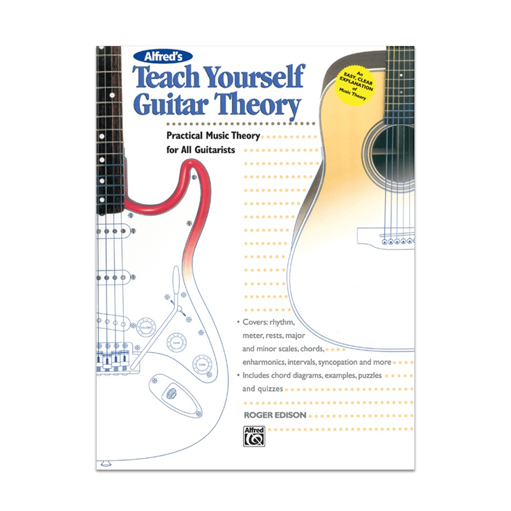 Alfreds Teach Yourself Guitar Theory Book Riff City Guitar Outlet