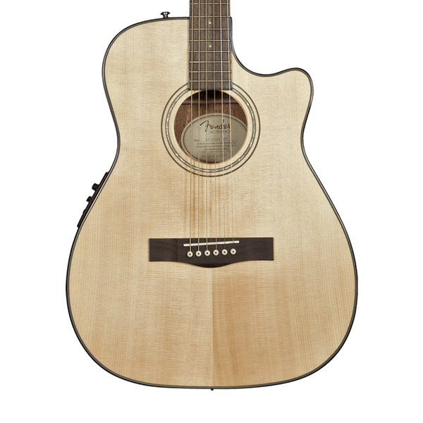 fender cf 140sce folk acoustic electric guitar natural riff city guitar outlet. Black Bedroom Furniture Sets. Home Design Ideas