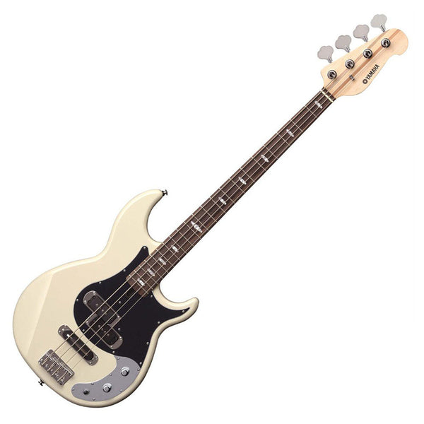 yamaha bb424x electric bass vintage white riff city guitar outlet. Black Bedroom Furniture Sets. Home Design Ideas