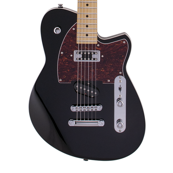 reverend buckshot electric guitar midnight black riff city guitar outlet. Black Bedroom Furniture Sets. Home Design Ideas