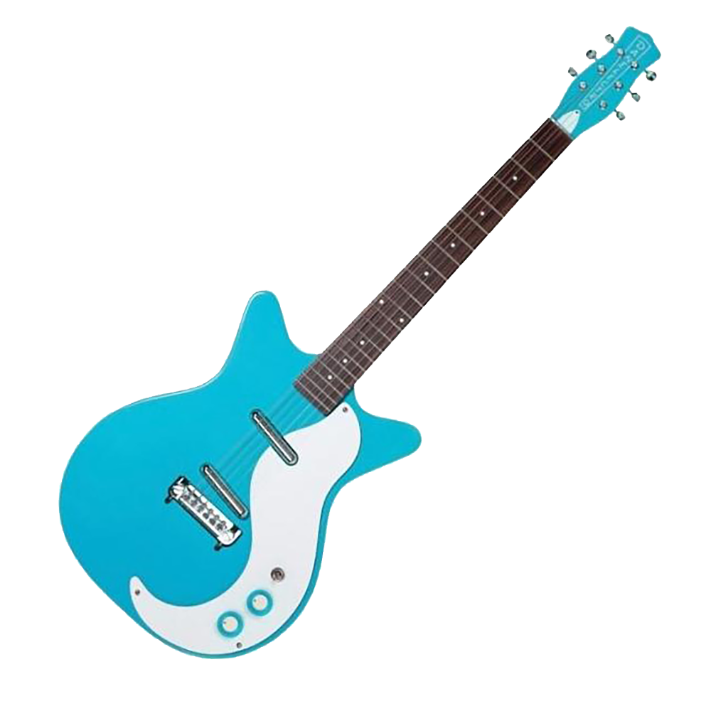 danelectro 39 59m nos double cutaway electric guitar baby come back bl riff city guitar outlet. Black Bedroom Furniture Sets. Home Design Ideas