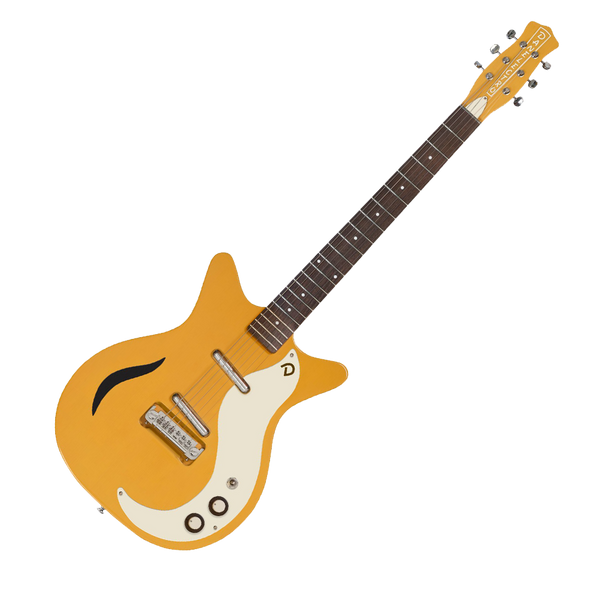 danelectro 39 59m spruce electric guitar buttercup riff city guitar outlet. Black Bedroom Furniture Sets. Home Design Ideas