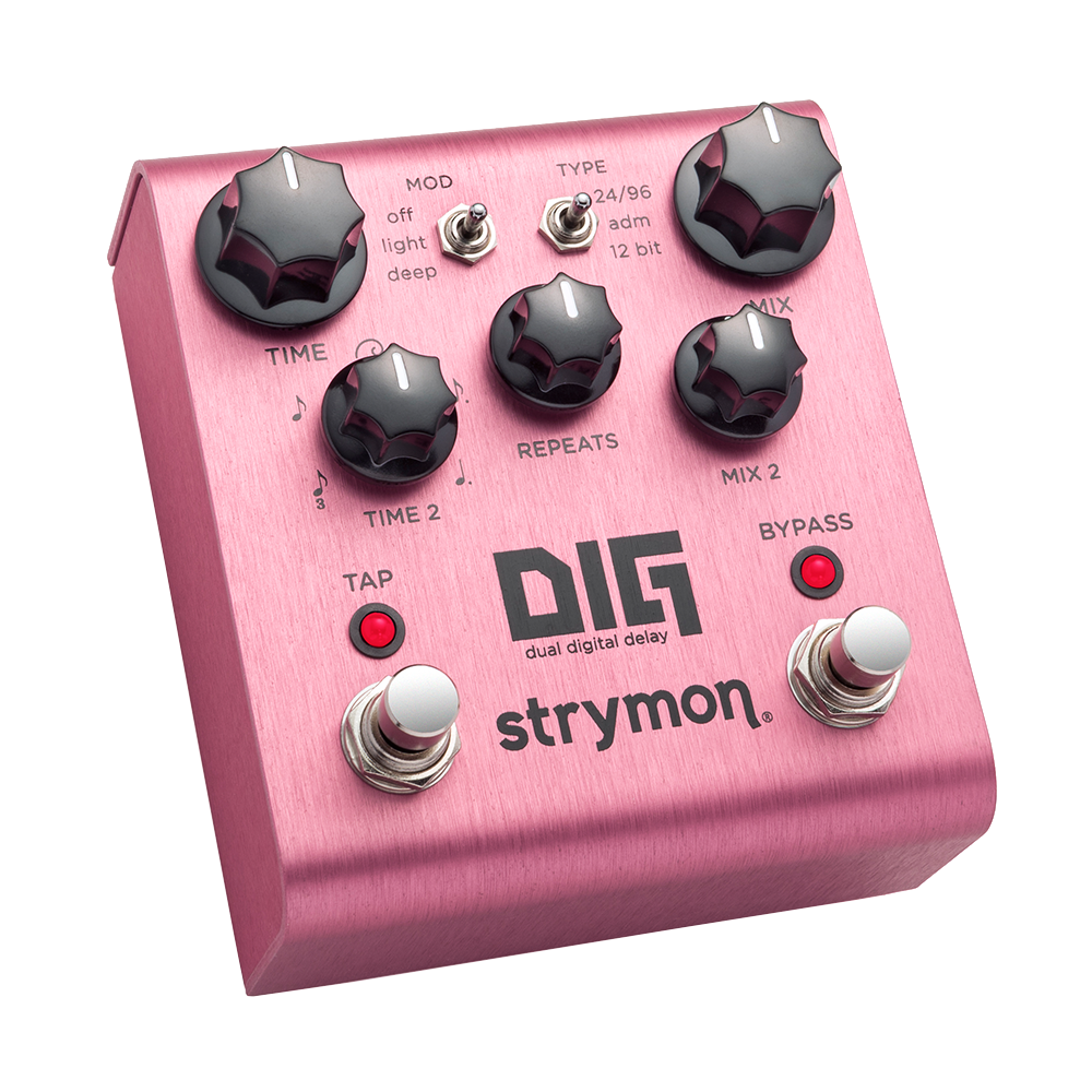 Strymon Dig Dual Digital Delay Riff City Guitar Outlet Delayed Off Light Switch