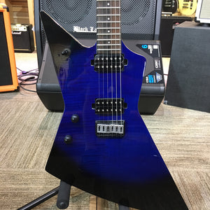 Chapman Ghost Fret Left-Handed - Midnight Sky with Gig Bag - Blem