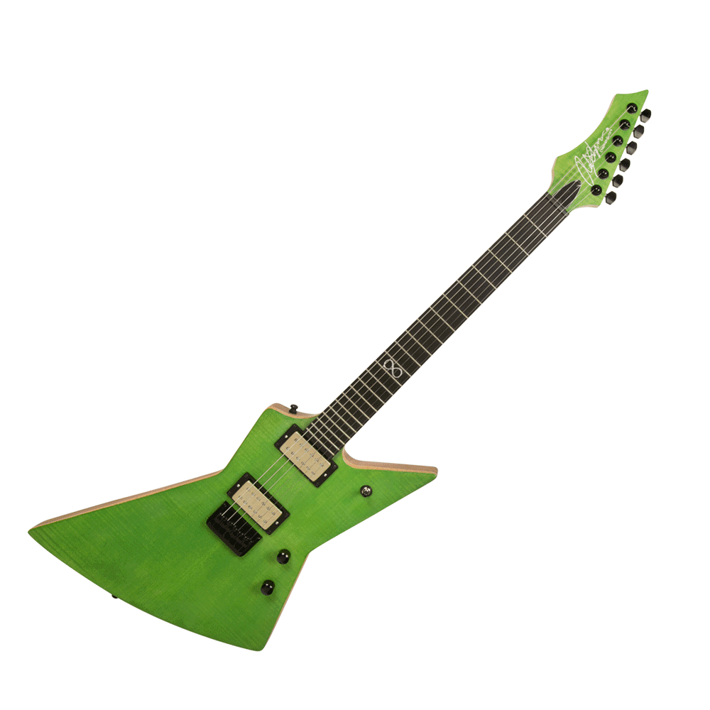 chapman custom ghost fret guitar satin green with case riff city guitar outlet. Black Bedroom Furniture Sets. Home Design Ideas