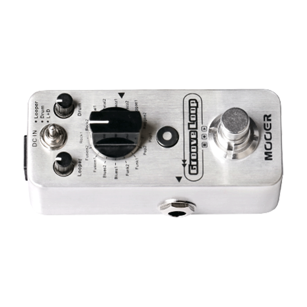 ... Mooer Groove Loop Drum Machine U0026 Looper Pedal