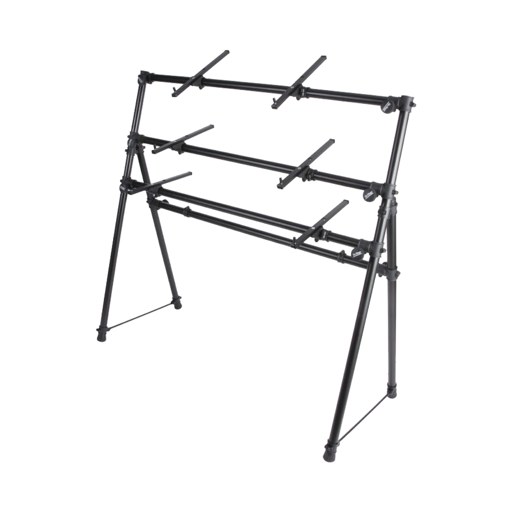On-Stage KS7903 3-Tier A-Frame Keyboard Stand - Riff City Guitar Outlet