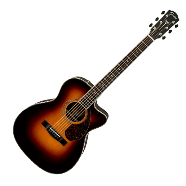 fender pm 3 deluxe triple 0 acoustic electric guitar vintage sunburs riff city guitar outlet. Black Bedroom Furniture Sets. Home Design Ideas