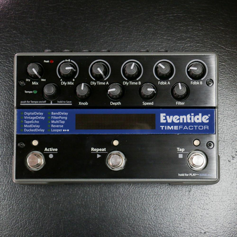eventide timefactor delay pedal store demo riff city guitar outlet rh riffcityguitaroutlet com Eventide TimeFactor Expression Pedal eventide timefactor user presets