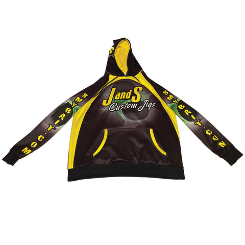 J AND S CUSTOM JIGS TOURNAMENT HOODIE