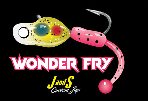 WONDER FRY DECAL