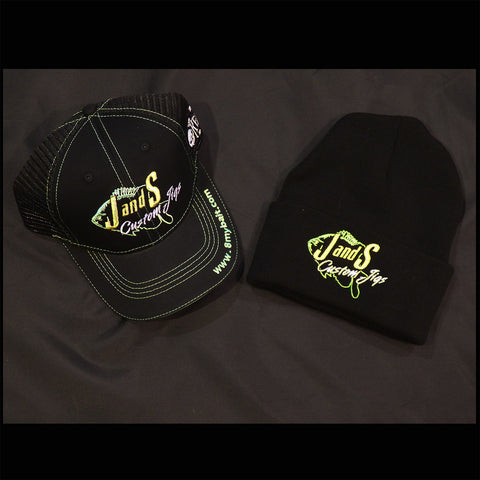 J AND S CUSTOM JIGS HAT COMBO