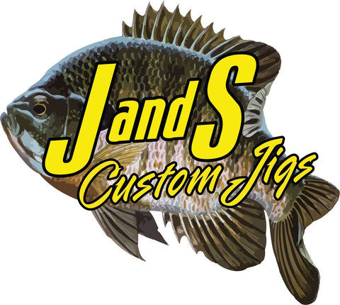J AND S CUSTOM JIGS GILL DECAL